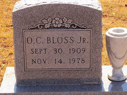 Oliver Calvin Bloss, Jr.