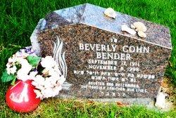 Beverly <i>Cohn</i> Bender