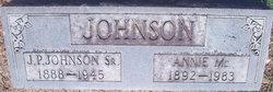 Annie Mae <i>McCormick</i> Johnson