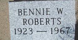Bennie W Roberts
