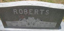 Mattie B Roberts