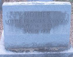 Lottie Frances Johnson