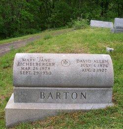 Mary Jane <i>Eichelberger</i> Barton