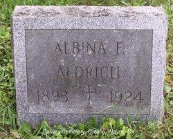 Albina F Aldrich
