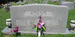 Nannie <i>Hyatt</i> Adams