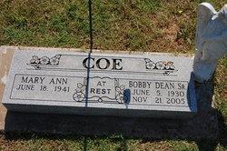Bobby Dean Coe, Sr