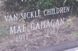 Mae <i>Van Sickle</i> Gahagan