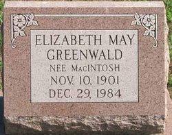 Elizabeth May <i>MacIntosh</i> Greenwald
