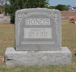 Sarah Elizabeth Sally <i>Flemming</i> Bonds