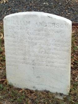 Maj William Anderson