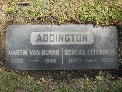 Dorcas Elizabeth Dora <i>McDowell</i> Addington