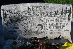 Sarah Elsie <i>Smethurst</i> Keyes