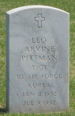 Leo Arvine Pittman