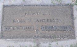 Rosa A. <i>Arvizu</i> Anderson