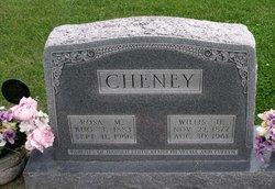 Rosa Christena Rose <i>Fisch</i> Cheney