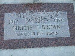 Nettie Josephine <i>Mathena</i> Brown