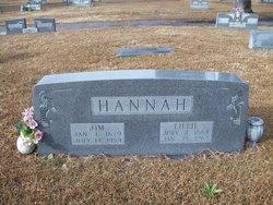 Lillie Bertha <i>Bearden</i> Hannah
