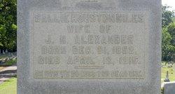 Sallie Houston <i>Niles</i> Alexander