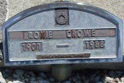 Roxie Laura <i>Pendley</i> Crowe