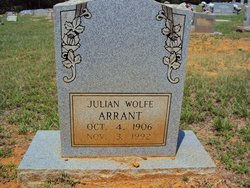Julian <i>Wolfe</i> Arrant, Jr