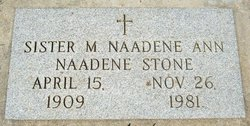 Sr Naadene (M. Naadene Ann) Stone