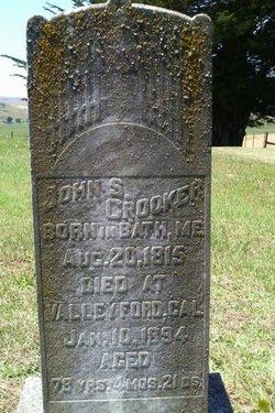John Stockbridge Crooker