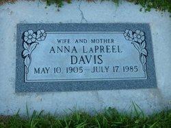 Anna LaPreel <i>Jensen</i> Davis