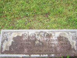 Catherine Elizabeth <i>Wood</i> Roach