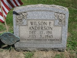 Wilson Porter Anderson