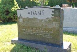 Alison Rhoda <i>Tucker</i> Adams