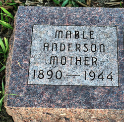 Mable <i>Clark</i> Anderson