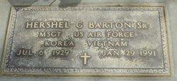 Hershel G Barton, Sr