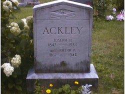 Basha F. <i>Buck</i> Ackley