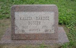 Kaleta Ethelyn Dorothy <i>Hardee</i> Buster