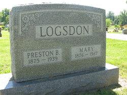 Preston B Logsdon