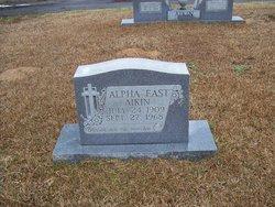 Alpha <i>East</i> Akin