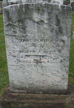 Jane Elmira <i>Woodburn</i> Ege