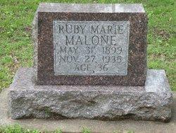 Ruby Marie Malone