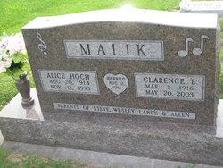 Alice Bertha <i>Hoch</i> Malik