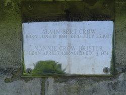 Nannie <i>Crow</i> Brister