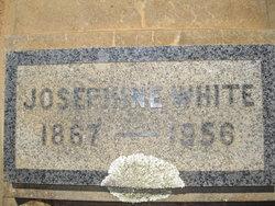 Josephine <i>Burriss</i> White