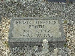 Bessie <i>O'Banion</i> Booth