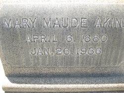 Mary Maude Akins