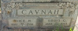 Alice <i>Howe</i> Cavnah