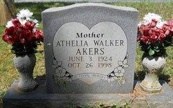 Athelia <i>Walker</i> Akers