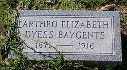 Athro Elizabeth <i>Dyess</i> Baygents