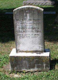 William Taylor Thom