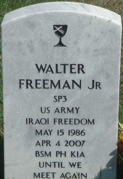 Spec Walter Freeman, Jr