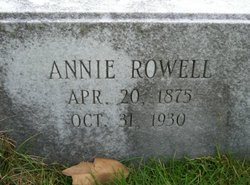 Annie Eliza <i>Rowell</i> Atkinson