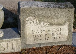 Mary Ossie Cash